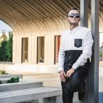 Męski i miejski fashion - Rzeszow